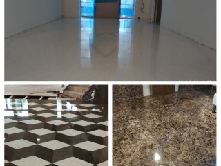 Broušení bezespáré podlahy