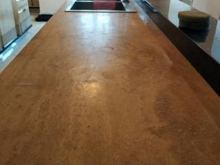 Kuchyňská deska před renovací